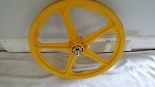 OLD SCHOOL BMX YELLOW SKYWAY TUFF 1 FRONT MAG FIRST GENERATION VINTAGE RARE