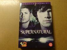 3-DISC DVD BOX / SUPERNATURAL: SERIE / SEASON 2 - VOLUME 1