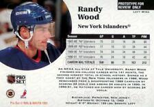 1991-92 Pro Set Preview Promos #2 Randy Wood