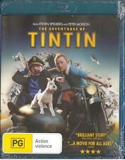 THE ADVENTURES OF TINTIN: THE SECRET OF THE UNICORN  - BLU-RAY - FREE LOCAL POST
