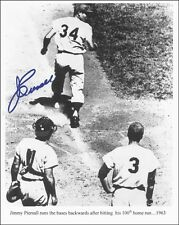 JIMMY PIERSALL - PHOTOGRAPH SIGNED