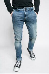GUESS ADAM Super Skinny Herren Jeans, Blau, W28,38 L32