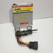 Well's LS406 Ford Ignition Switch NOS -Fits Early-Mid 70s Ford, Lincoln, Mercury
