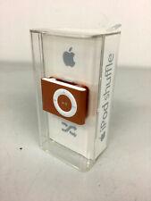 New Factory Sealed Apple iPod Shuffle 2nd Gen A1204 Orange (1 Gb) Free Shipping