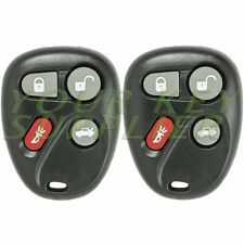 2 New Replacement Keyless Entry Remote Fob Grand Am Malibu 25695954 KOBLEAR1XT