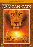 Disneynature: African Cats (Blu-ray/DVD, 2011, 2-Disc Set) Brand New!