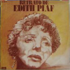 Retrato De Edith Piaf La Vie En Rose EMI 1977 Uruguay NMINT