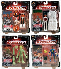 NEW Micronauts Palisades Exclusive Series 1.5 Limited Set of 4 MOC Sealed Carton