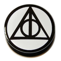 Harry Potter Deathly Hallows PMMA Acrylic Screw-Fit Flesh Plug Tunnel Stretcher