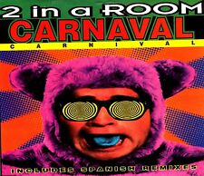 CDM - 2 IN A ROOM - CARNAVAL (LATIN HOUSE) NUEVO - NEW, STOCK STORE LISTEN
