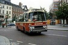 Barton Buses ARB132T Nottingham 1991 Bus Photo