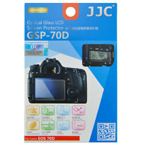 JJC GSP-70D Optical GLASS LCD Screen Protector Film for CANON EOS 70D 80D 90D
