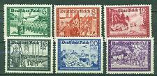 Deutsches Reich 1941 Nr. 773 - 778 postfrisch ** MNH Kat. 60,00 €.