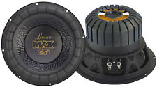 1 New Lanzar MAX12 Max 12'' 1000 Watt Small Enclosure 4 Ohm Subwoofer Sub
