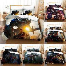 Transformers Duvet Cover Pillowcases 3PCS Bedding Set US Size Comforter Cover