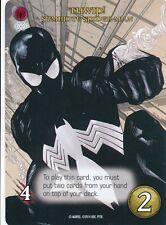 SYMBIOTE SPIDER-MAN BLACK COSTUME 2014 Upper Deck Marvel Legendary SP THWIP!