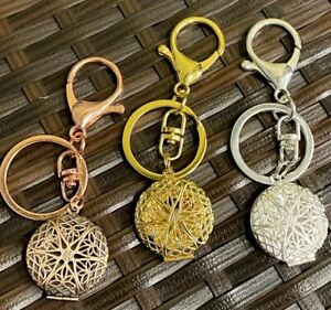 Silver, Copper, or Gold Photo or Diffuser Locket Keychain, Valentine's Day Gift