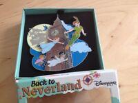 PIN Jumbo Peter Pan Wendy Big Ben Back To Neverland DLP Disneyland Paris LE 425