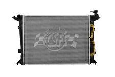 Radiator-1 Row Plastic Tank Aluminum Core CSF fits 10-16 Hyundai Genesis Coupe