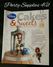 Disney Cakes and Sweets Magazine Issue 119. Pirate fairy/recipes/cupcakes/Tinker
