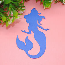 Lovely Mermaid Metal Cutting Dies Stencils DIY Scrapbooking Photo Album Cards 1x