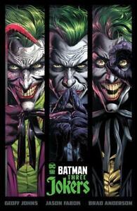 BATMAN THREE JOKERS HARDCOVER DC COMICS 2020