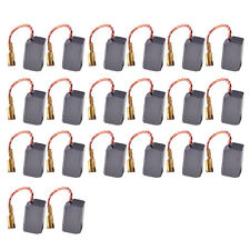 20pcs Motor Carbon Brushes Power Tool fit for Angle Grinder Rotary Hammer Drill