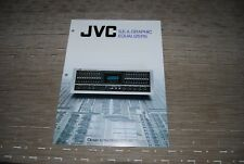 JVC S.E.A Graphic Equalizer EQ SEA-80 SEA-70 SEA-60 SEA-40 Original Catalogue