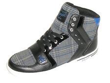 Original Penguin Men's Mens Moby Hi Top Fashion Sneaker Shoe Size 9  Black Blue