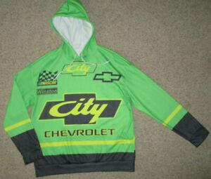City Chevrolet NASCAR Hoodie Coat Fleece Sweat Jacket XL Pullover Sweater NEW!
