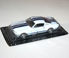 SHELBY 350GT (White + Blue Stripes) - Model Scale 1/43