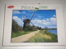 """(4362) """"Puzzle Conserver"""" Jigsaw Puzzle 1000 piezas """"El molino de viento"""""""