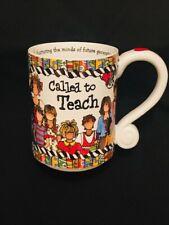 New listing Suzy Toronto. Called To Teach Coffee Tea Mug Teacher Gift 16 oz New