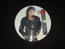 MICHAEL JACKSON - BAD - ORIGINAL PICTURE DISC LP- 1987 EPIC - 450290 0