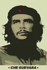 CHE GUEVARA ~ KHAKI PORTRAIT 24x36 POSTER Victory Always Cuba Military