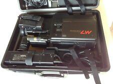 VIDEOCAMERA PANASONIC M7 VHS MOVIE SYSTEM CASE VW-SHM7 VINTAGE CON VALIGIA