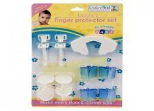 11 piezas juego de protector de dedo Bebé Niños Seguridad Enchufe de muebles tapas de esquina