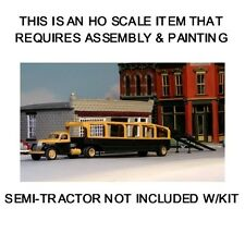 HO SCALE KIT: 1946 WHITEHEAD & KALES CAR CARRIER TRAILER - SYLVAN - KIT #T-015