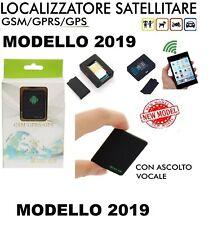 LOCALIZZATORE SATELLITARE SOS GPS GSM TRACKER MINI A8 ASCOLTO VOCALE SPIA 2019
