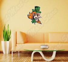 "Evil Angry Leprechaun Ireland Irish Wall Sticker Room Interior Decor 20""X25"""