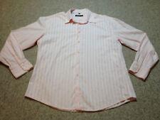"""Ben Sherman Casual Shirt Pink Adult Large Pit to Pit 22"""" (M1)"""