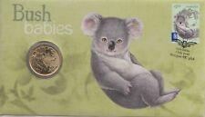More details for coin & stamp cover  2011 australian  1 dollar bush babies   auspost