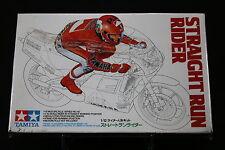 XC058 TAMIYA 1/12 maquette pilote moto 1440 350 40 Straight run rider