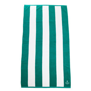 SOHO HOUSE Beach Towel Rectangle Striped Pattern Embroidered Logo