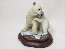 "Lenox Gallery Figurine Wildlife Collection ""Arctic Polar Bear Mother & Cub"""