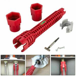 8in1 Multifunction Faucet Sink Installer Wrench Plumbing Tool Water Pipe Spanner