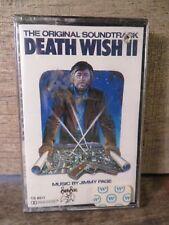 Death Wish II Soundtrack by Jimmy Page (Cassette) SEALED