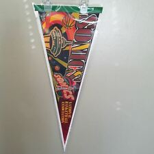 SEATTLE SUPERSONICS NEEDLE VINTAGE NBA FELT PENNANT WITH HOLDER