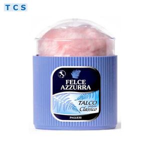 FELCE AZZURRA Talco Classico Körperpuder Body Powder, 250g Dose mit Puderquaste