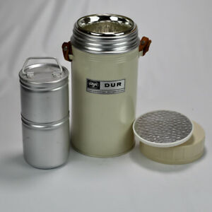 Alfi DUR 1.6 Liter Glass insulated Thermos Food Jar with inserts - Vintage -